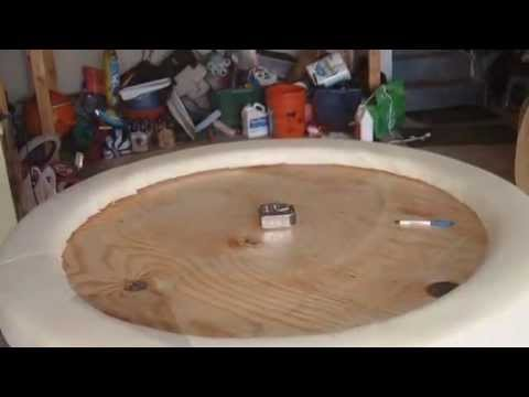 Build Your Own Poker Table - Construction