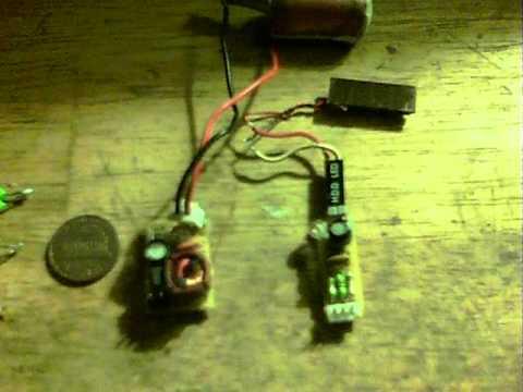 Axial inductor solar oscillator
