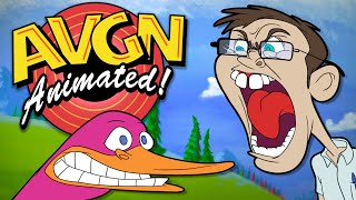 AVGN in Duck Hunt - Animated Angry Video Game Nerd