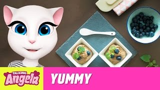 Talking Angela - Easy Vegan Chocolate Mousse (Yummy Recipe)