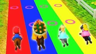 Download Super Mario Party - Minigames - Mario vs Bowser vs Rosalina vs Peach