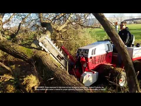 Will A Trencher Cut Through A Tree?