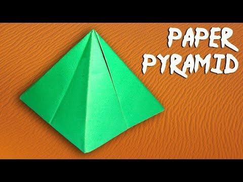 peramid-how to make a paper peramid