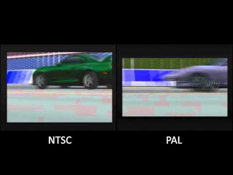 PAL vs. NTSC! - Gran Turismo (PSX)