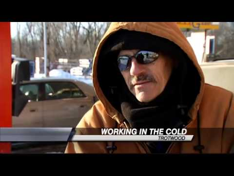 Working Outside In Freezing Temps