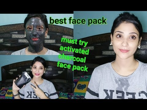 how:  get beautiful clear skin | activated charcoal  pack | demo | shy styles