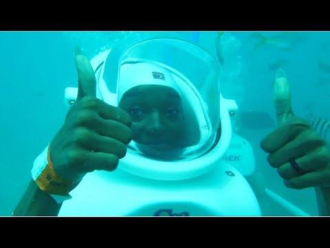 Honeymoon Day 5   Royal Caribbean Allure of the Seas    🇻🇮St. Maarten SeaTrek 🐠