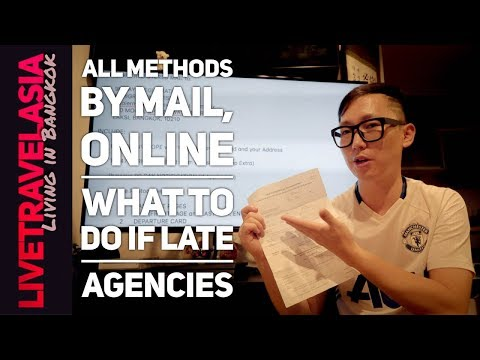 90 Day Report in Thailand Complete Step by Step Guide, Mail, Online, and Agencies