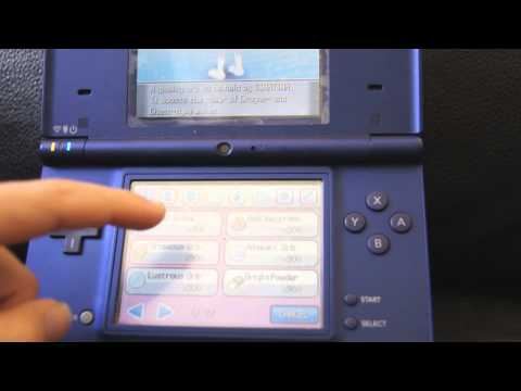 How To Change Giratina into Sky Form (Pokemon HeartGold)