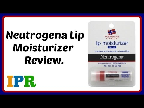 Neutrogena lip moisturizer review (india)| Neutrogena Lip balm | Indian Product Reviewer