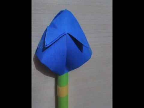how to make a paper lotus flower I easy craft for children