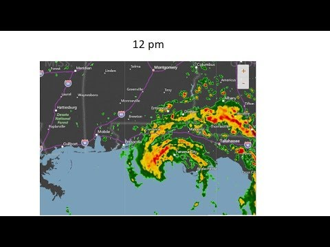 Tropical Storm Alberto Timeline