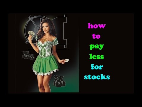 5 Ways to Pay Less for Stocks than Everybody Else // Stocks options tips strategies basics beginners