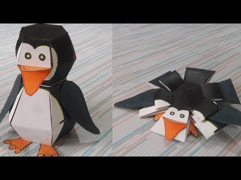 How to make Penguin Bomb/ Bouncing penguin (DIY) Tutorial with Sketch to use