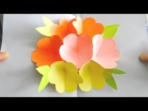 Flower Pop Up Card for Mothers Day