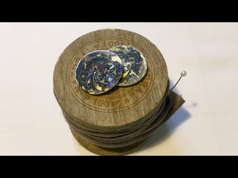 How To Make Ancient Tile Buttons - DIY Crafts Tutorial - Guidecentral