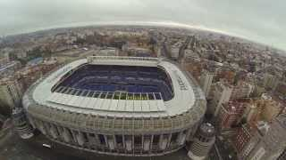Estadio santiago bernabéu Stadium Real Madrid C.F. Filmed with DJI Phantom Drone + GoPro 3 Black