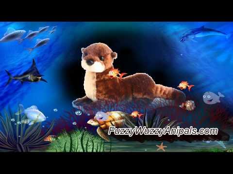 Big Stuffed Animals Sea Otter At Cuddleworks Com Otter Stuffed