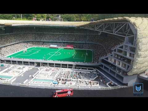 Worlds biggest Lego building - Allianz Arena
