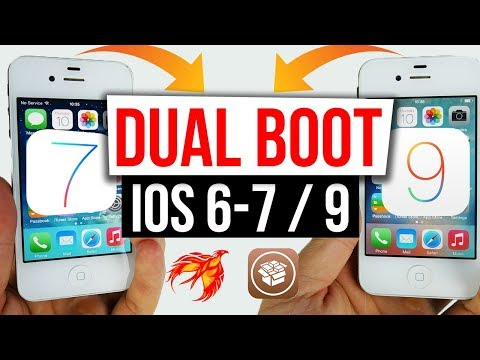 Dual Boot IOS 6.1.3 / 7 & IOS 9.3.5 on 32Bit Devices iPhone 4s, iPhone 5, iPod 5, iPad 2