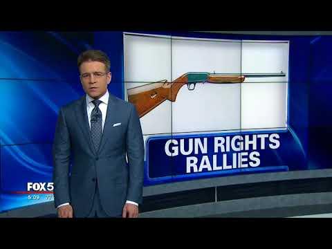 Gun rights rallies across the nation