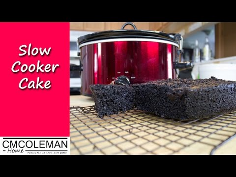 Slow Cooker Chocolate Cake Recipe
