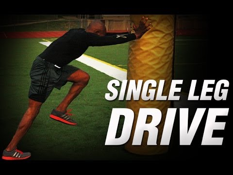 Single Leg Drive Through | Track Speed Training