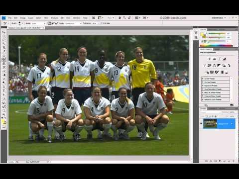 Curso Photoshop CS4 - Aula 18 - Color Replacement Tool