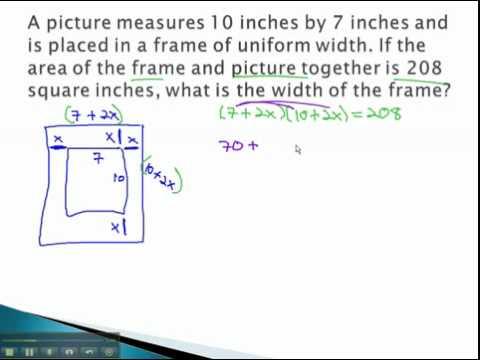 Frames - Picture Frames (part 1)