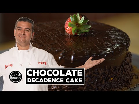 The Cake Boss Shows How to Make a Chocolate Decadence Cake | Fast Cakes Ep01