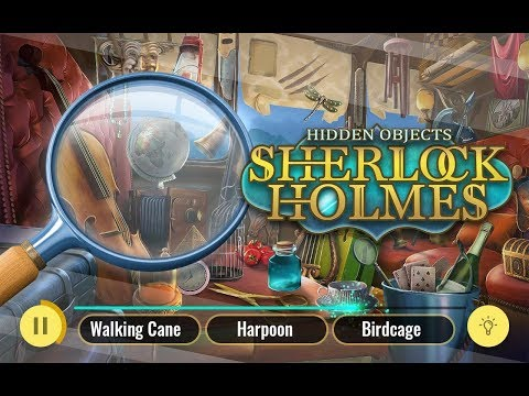 Sherlock Holmes Hidden Objects Game – Best Detective Games for Android 2018