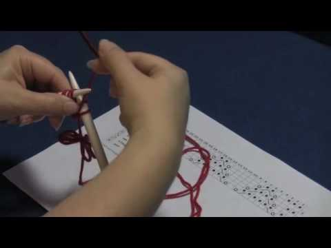 How to Read a Lace Knitting Chart, Part 1