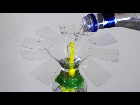 DIY Heron's Fountain with Plastic Bottles