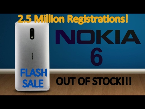Nokia 6 launch date in India | Nokia 6 Game Changer ??? | Nokia Flash Sale | Nokia is Back!