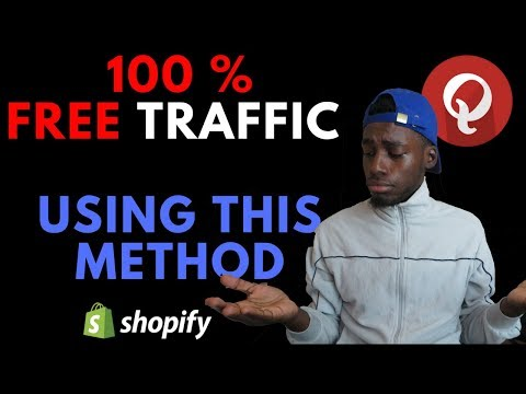 How To Get FREE TRAFFIC to Your Shopify Store With Qoura