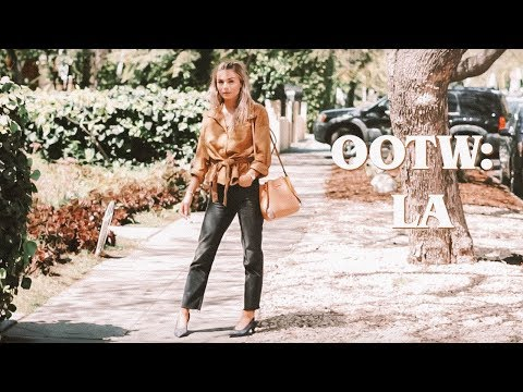 OOTW: Spring/Summer 2018 Outfits | what I wore in LA