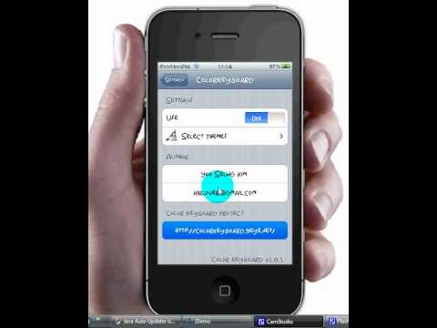 How to Change Keyboard Colour iOS 4.3.2 and UNDER