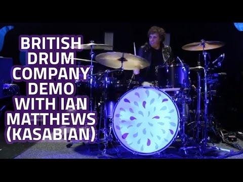 Kasabian Interview - British Drum Company Demo With Ian Matthews