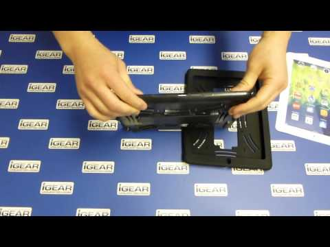 iGear STC G3 Rugged iPad Case - How to install