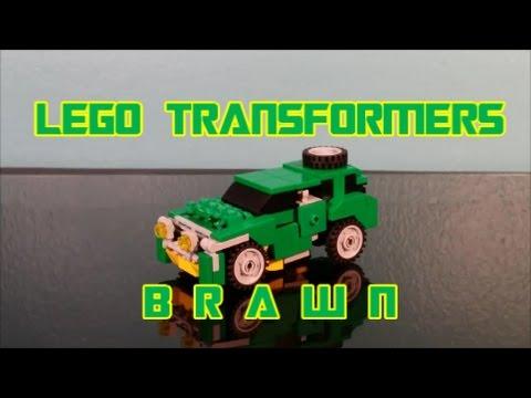 Lego Transformers Brawn G1 By BX Brix