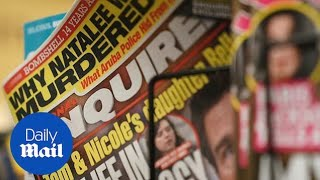Download Owner of National Enquirer considering selling the tabloid Video