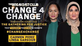 Carmen Perez & Linda Sarsour Discuss Criminal Justice Reform And More