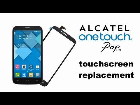 Alcatel POP C9 OT7047 Touchscreen glass replacemnt