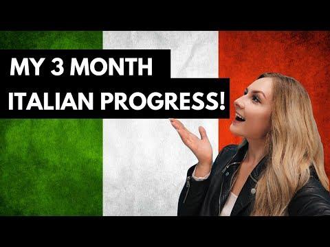 ITALIAN IN 3 MONTHS: PROGRESS UPDATE 🇮🇹