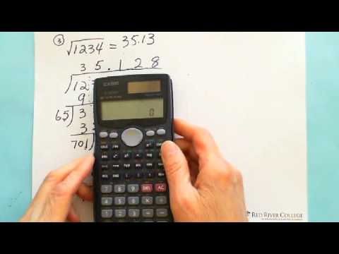 Mental Math: Find Exact Square Root Manually