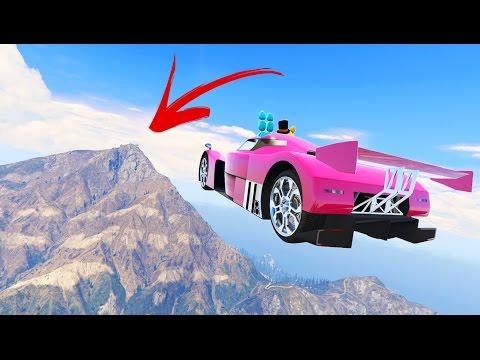 WORLD'S LONGEST ANIMATRONIC STUNT JUMP! (GTA 5 Mods FNAF Funny Moments)