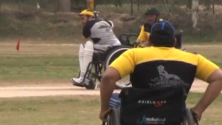 Cricket Match Of Disable Person