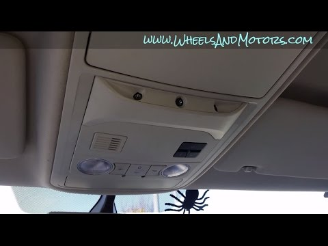 How to replace roof interior light bulb (front and rear) VW Sharan / SEAT Alhambra