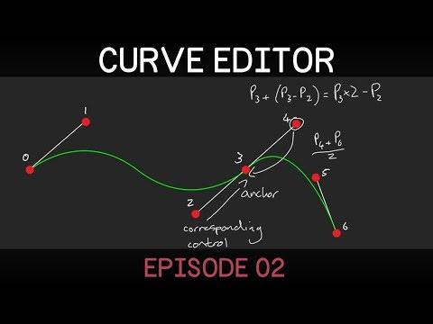 [Unity] 2D Curve Editor (E02: adding and moving points)