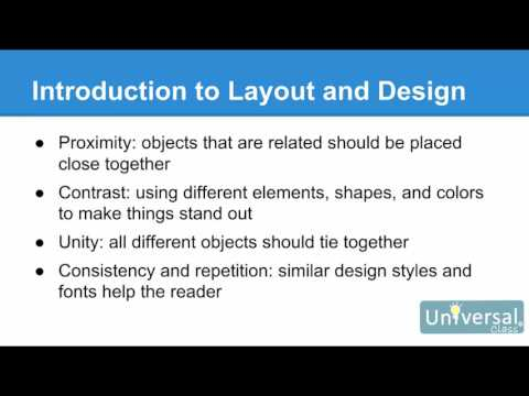 Lesson 1: Introduction to Microsoft Publisher 2016 - MS Publisher 2016 Course | Universal Class
